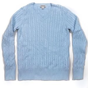 Vintage St. John's Bay Cable Knit Classic Sweater